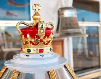 Royal Yacht Britannia Details Crown