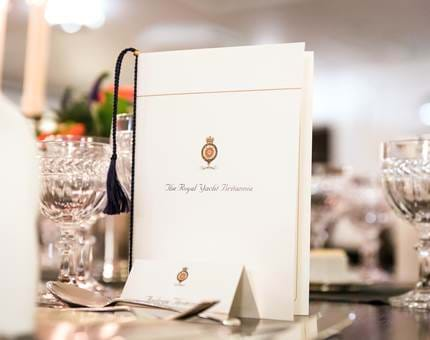 Royal Yacht Britannia Events - Burns State Dining Room
