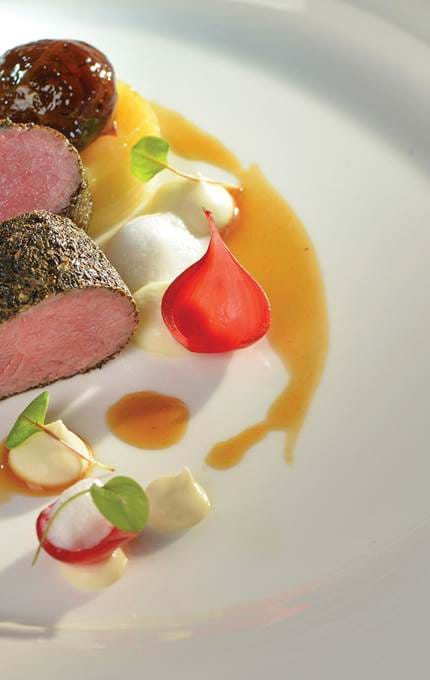 Catering on the Royal Yacht Britannia - Scottish Field Lamb Lion