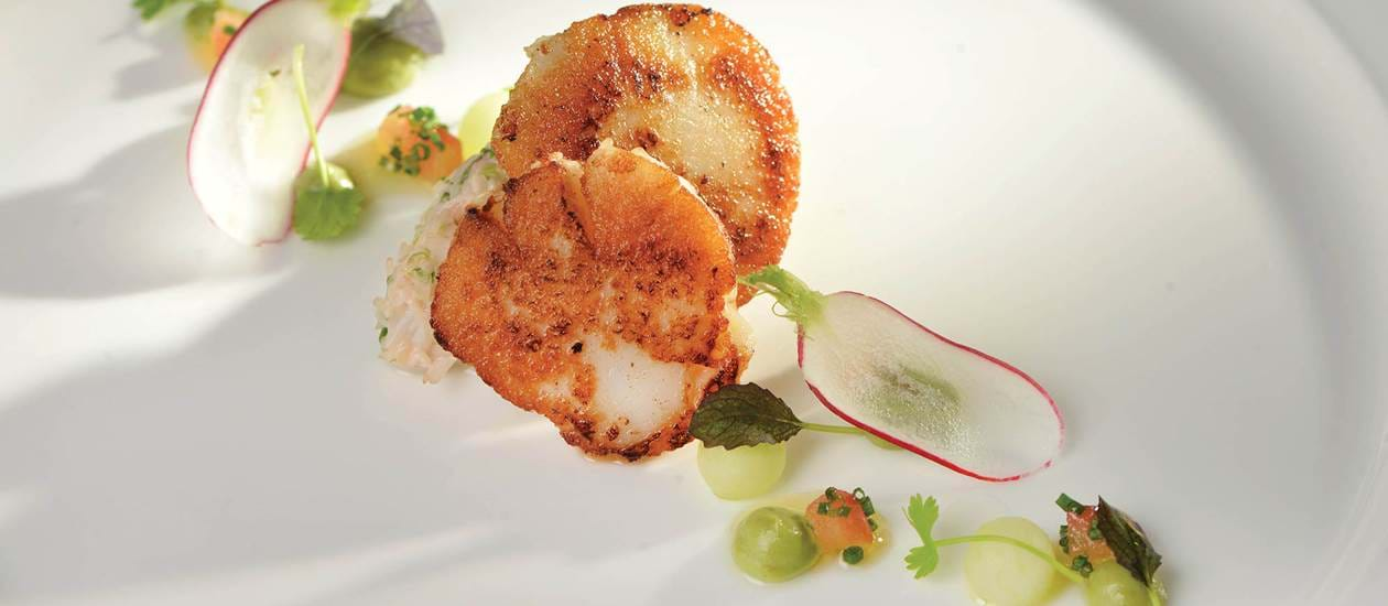Catering on the Royal Yacht Britannia - Scottish Field Scallop