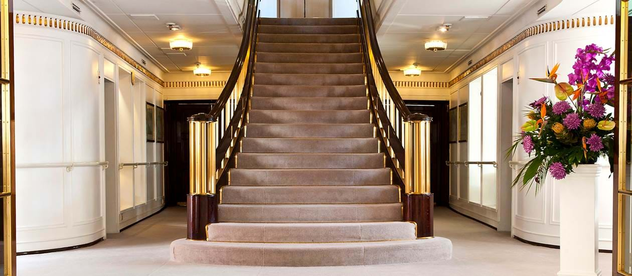 grand staircase royal yacht britannia