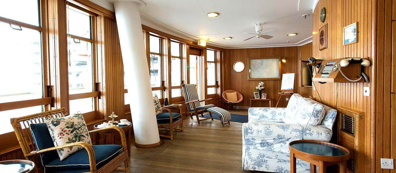 sun lounge royal yacht britannia
