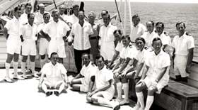 Crew of The Royal Yacht Britannia Yotties