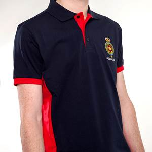 Britannia Navy & Red Polo Shirt