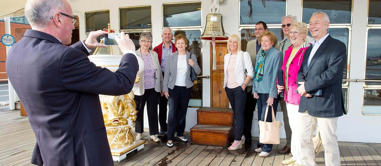 Royal Yacht Britannia - Group and family tours 7