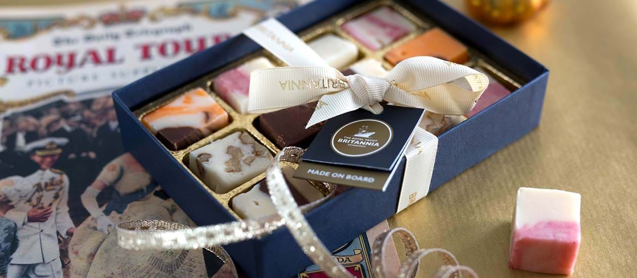chocolates royal yacht britannia