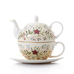 Britannia Embroidery Tea for One.