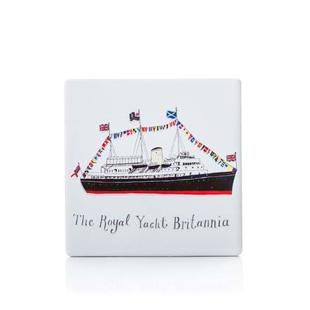 Britannia Flags Coaster