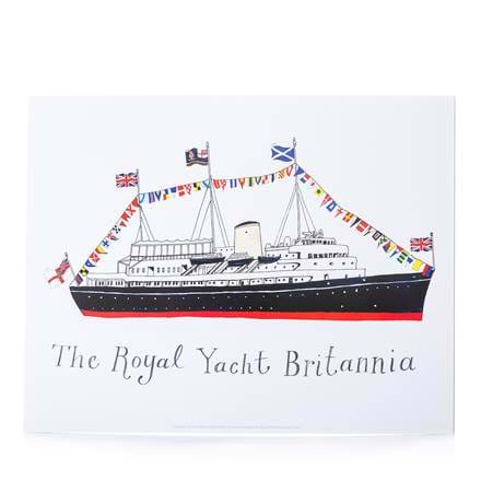 Britannia Flags Greeting Card
