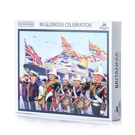 Britannia In Glorious Celebration Jigsaw