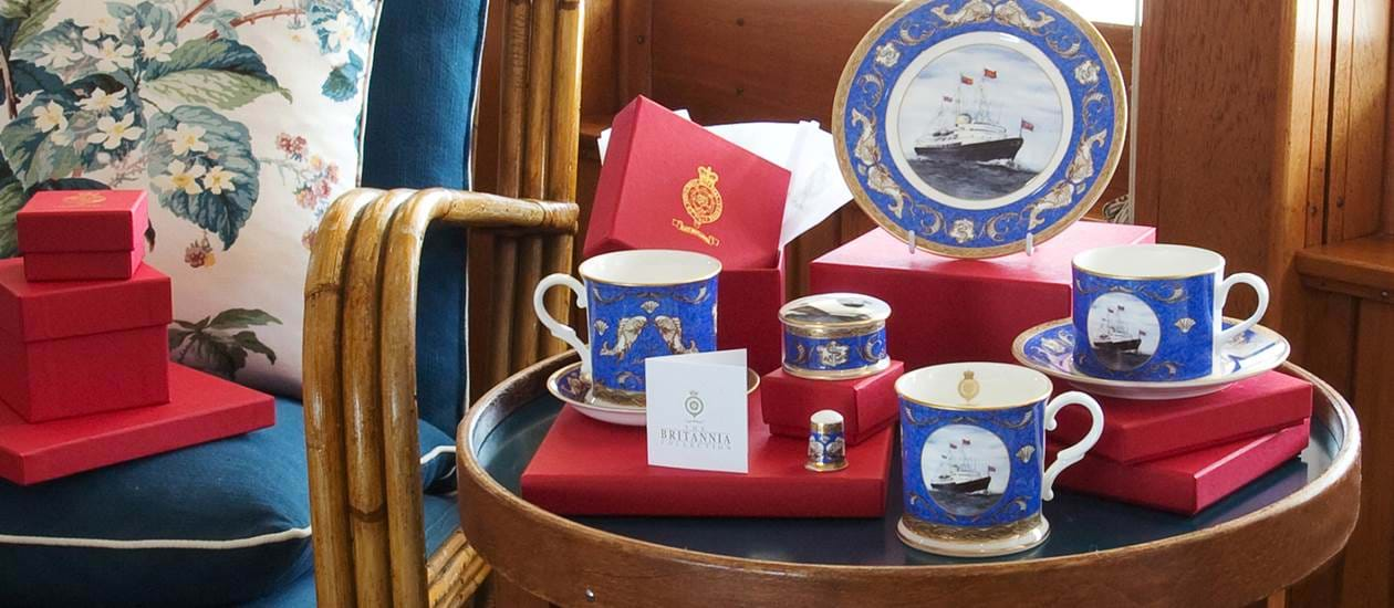 china chinaware royal yacht britannia
