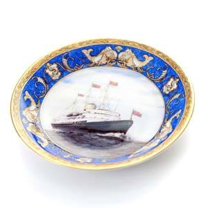 Britannia at Sea Small Plate.