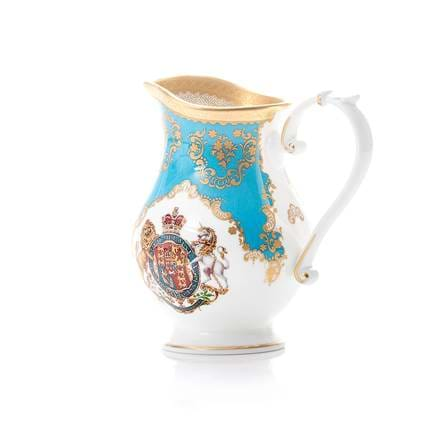 Coat of Arms Cream Jug.