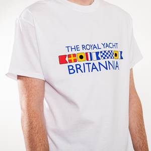Britannia White Flags T-Shirt
