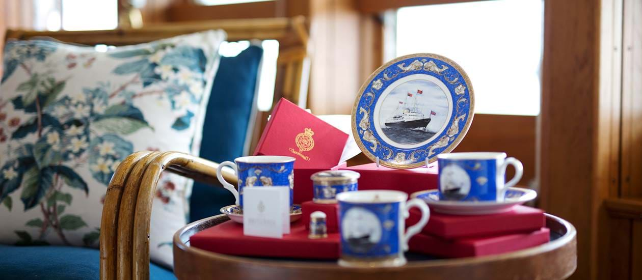 china chinaware royal yacht Britannia.