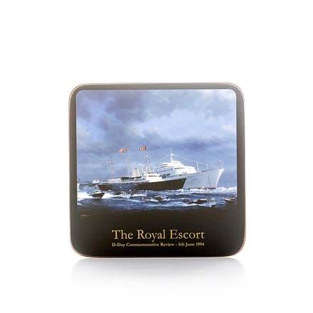 Britannia Royal Escort Coaster