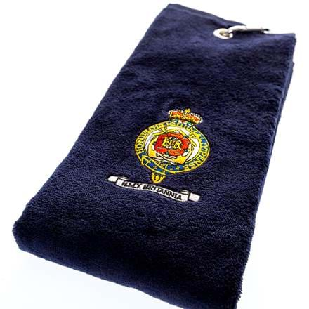 Britannia Navy Velour Golf Towel