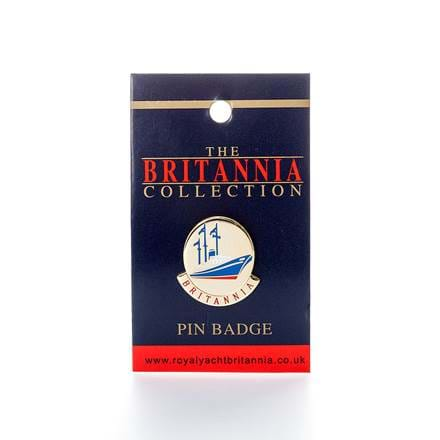Britannia Ship Pin Badge