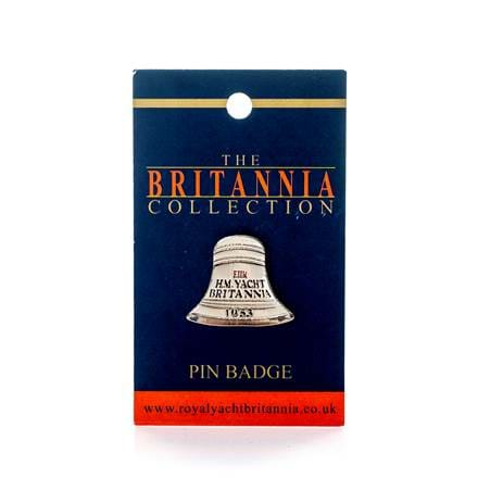 Britannia Bell Pin Badge