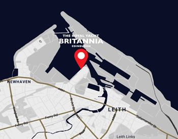 Royal Yacht Britannia - Map 4