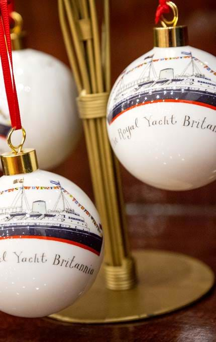 These fantastic Christmas baubles are now available in the Gift Shop, illustrated by Jennie Maizels.