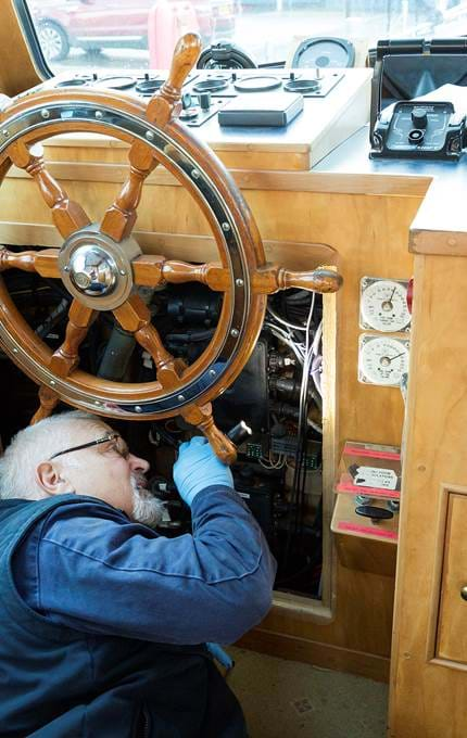 electrical maintenance royal yacht britannia