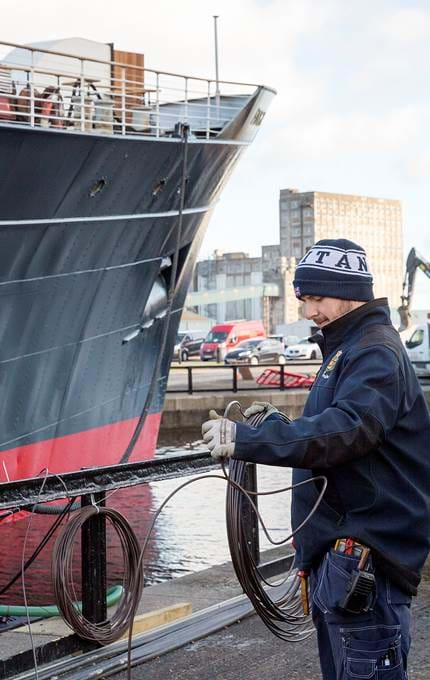 maintenance royal yacht britannia