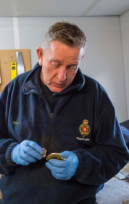 small item maintenance royal yacht britannia