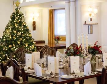 State Dining Room at Christmas