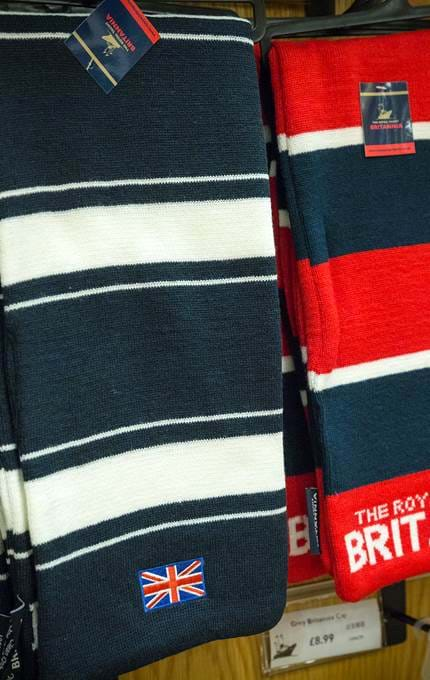 branded scarves royal yacht britannia