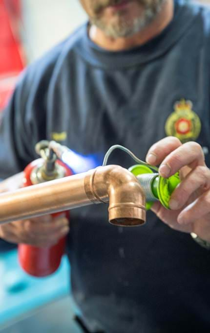 welding for plumbing royal yacht britannia