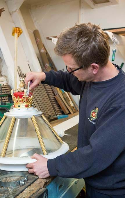 workshop item maintenance royal yacht britannia