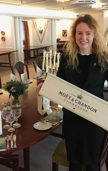 moët chandon champagne royal yacht britannia