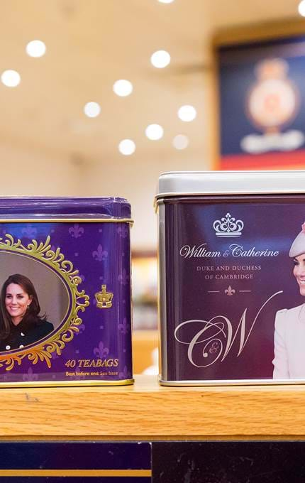 prince william princess catherine teabags royal yacht britannia