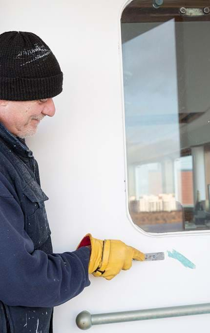 painting royal yacht britannia