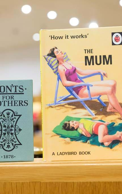 Novelty books for mother's day.