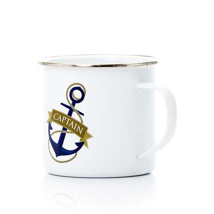 Captain and anchor mug.