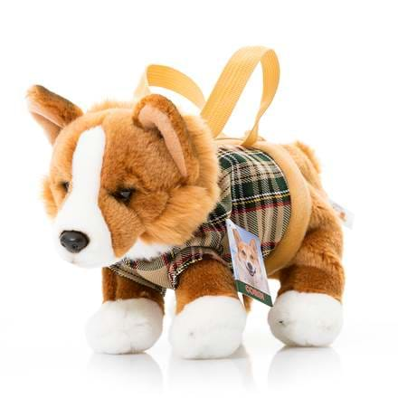 Stuffed corgi