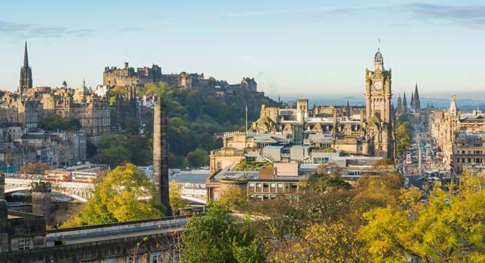 City of Edinburgh © VisitScotland/Kenny Lam