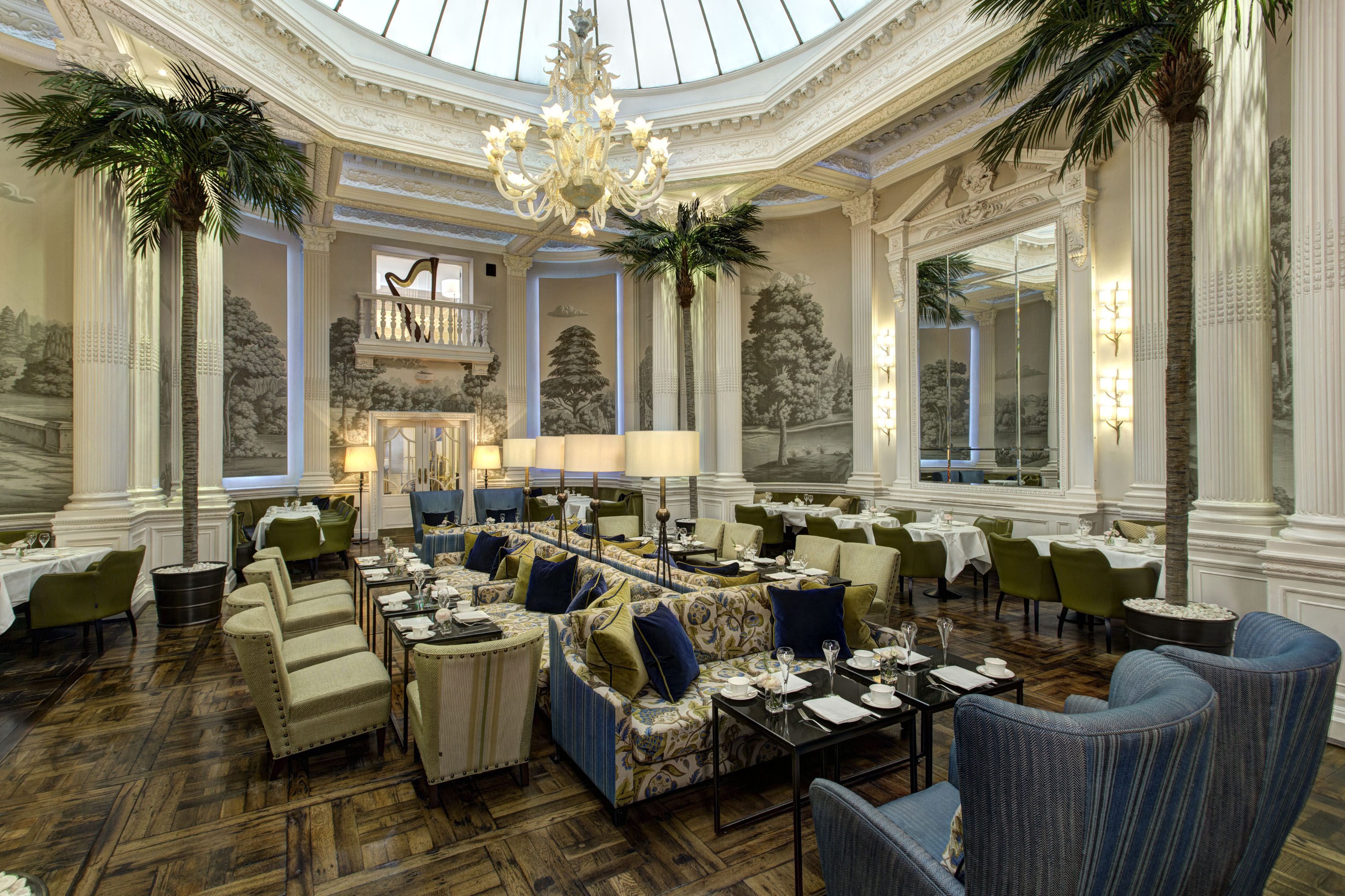 The Palm Court in The Balmoral Hotel
